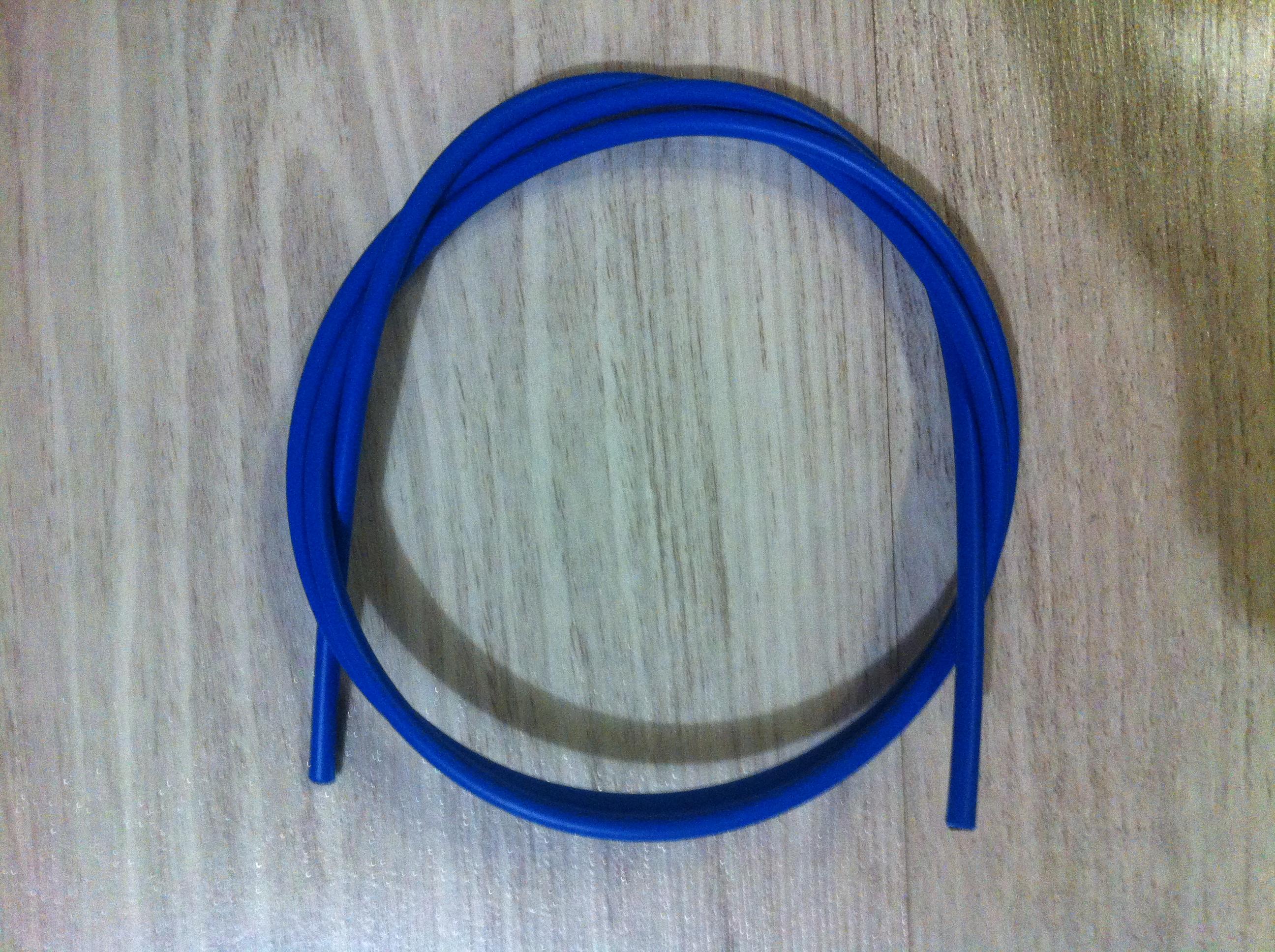 Оплетка троса переключателя Shimano SP41, 1 м., синяя