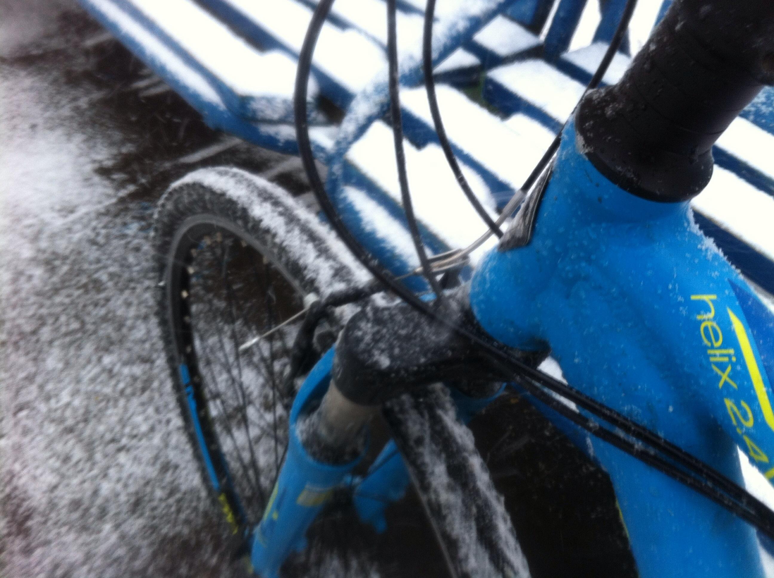 Открыл велосезон