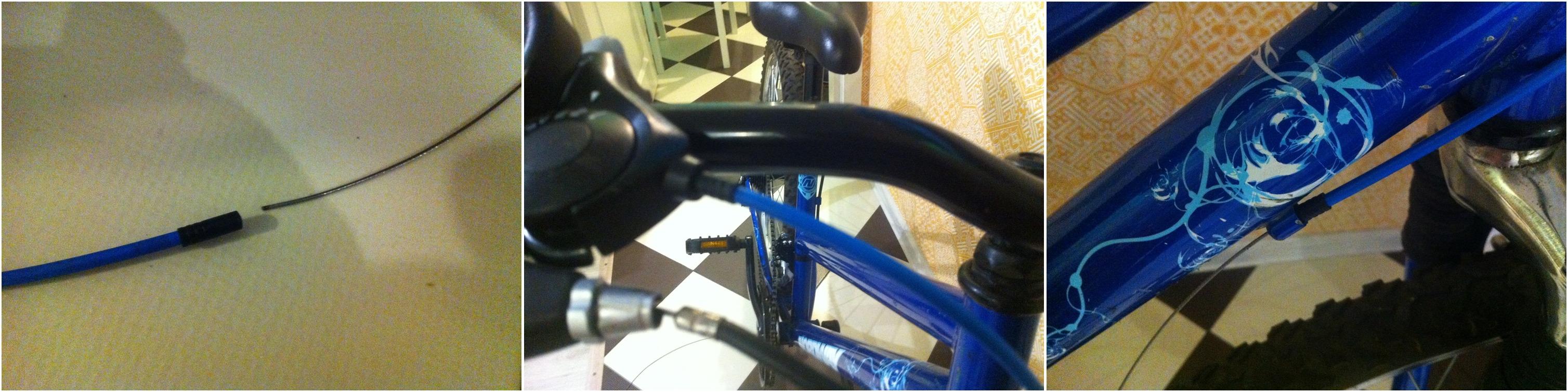 Как поменять тросик переключения скоростей на велосипеде 56
