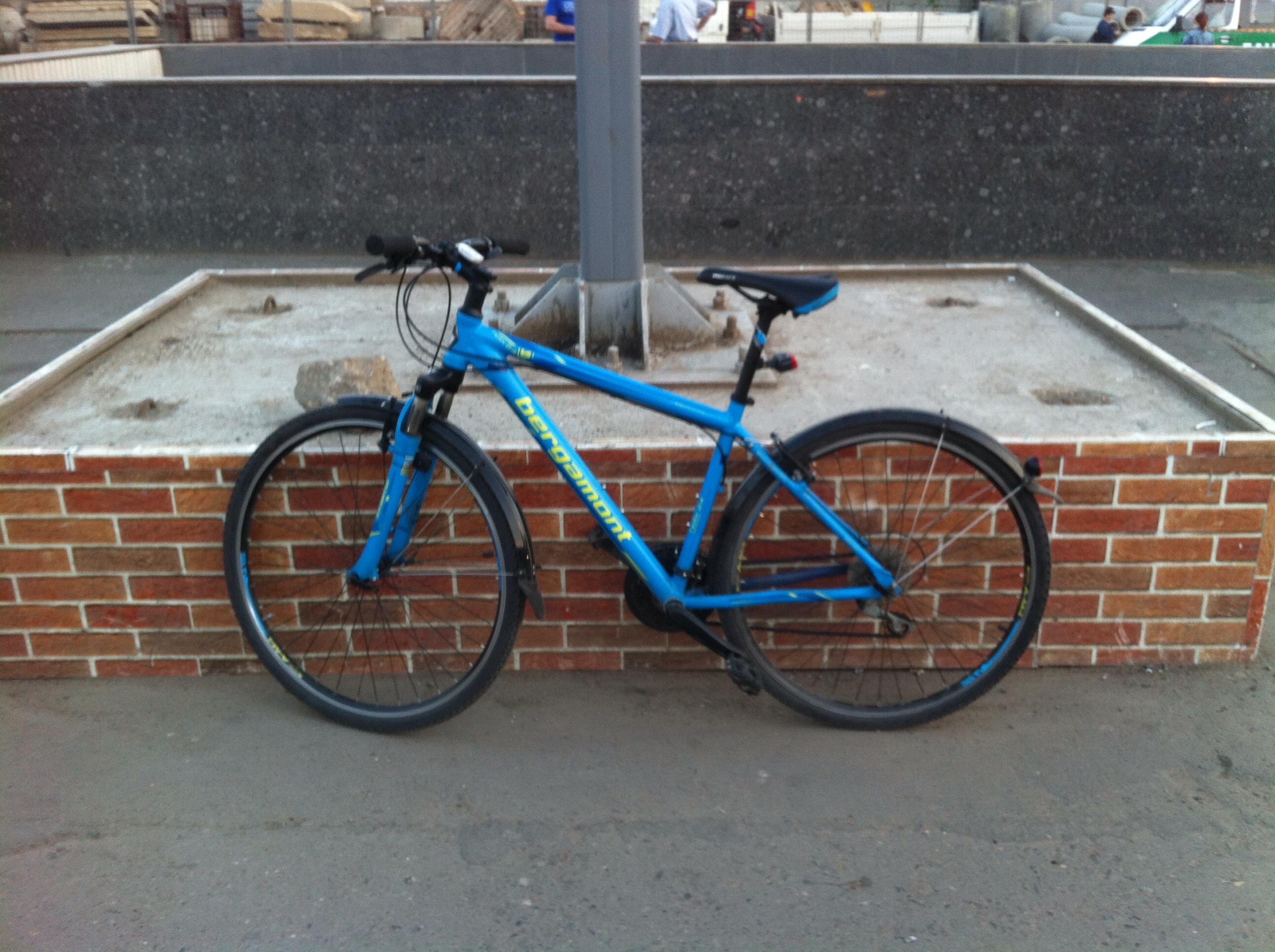 Первая соточка на велосипеде 06.06