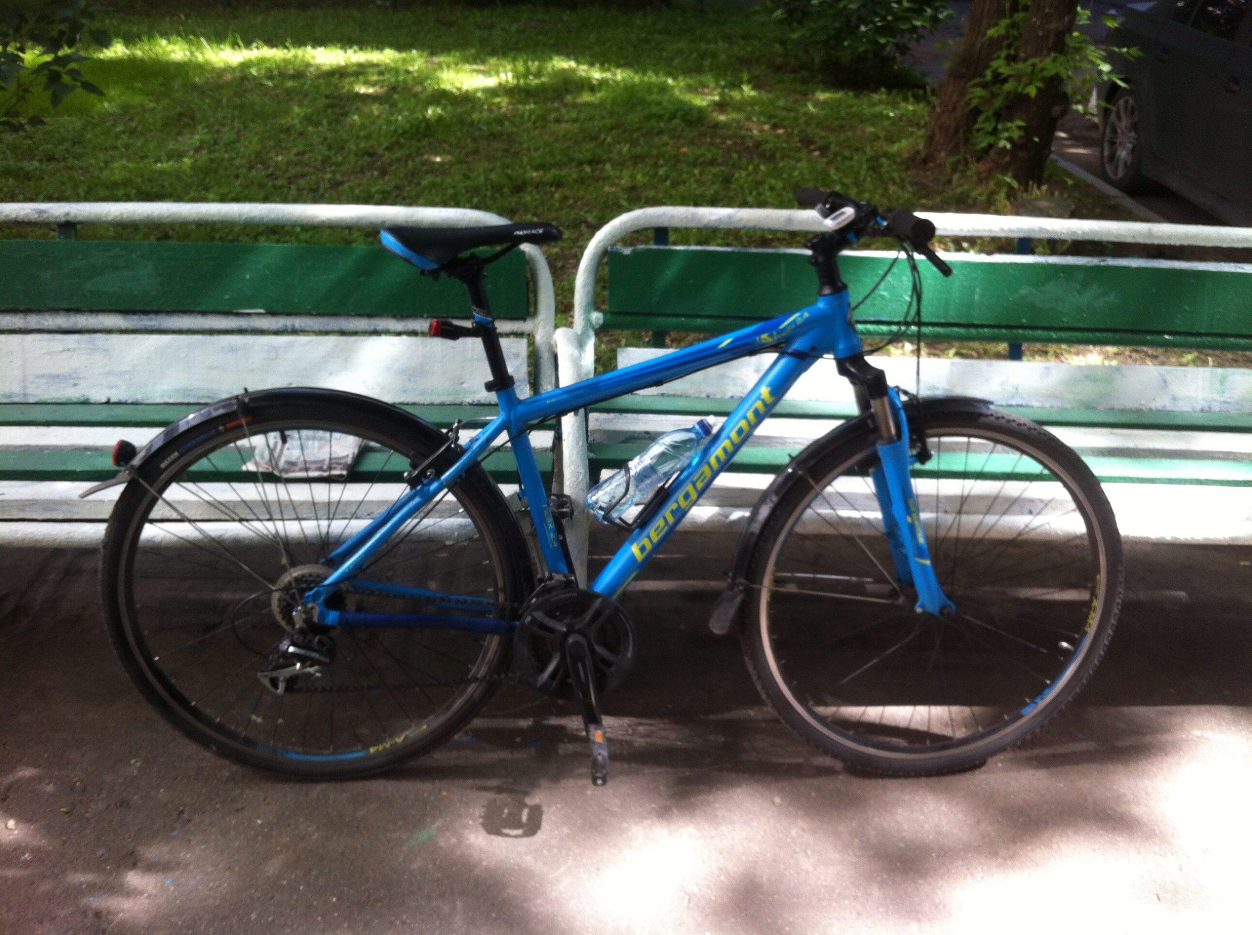 Журнал по техническим работам с велосипедом Bergamont helix 2.4