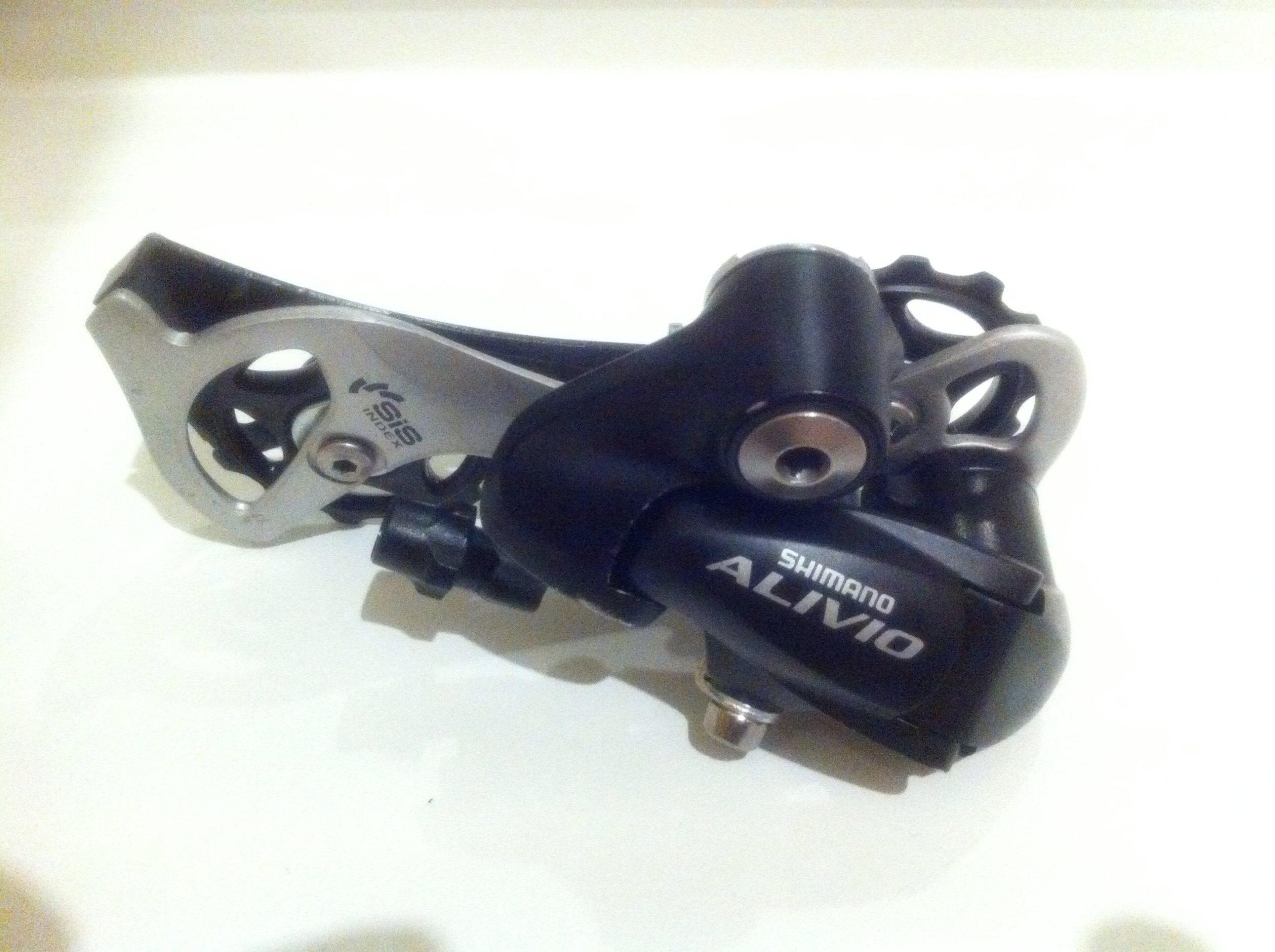 Покупка заднего переключателя shimano alivio rd m410