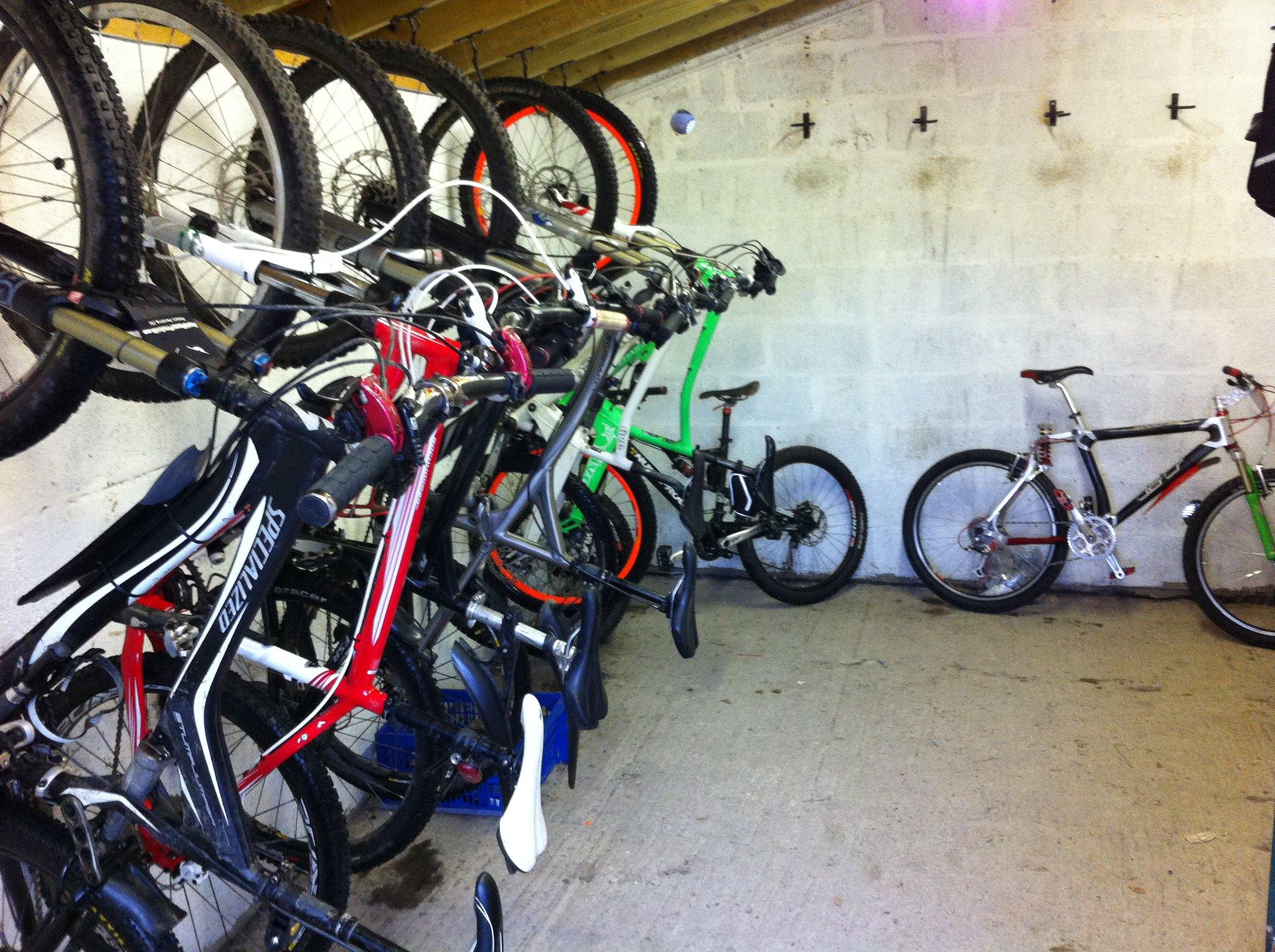 Услуга по хранению велосипедов зимой в теплой веломастерской