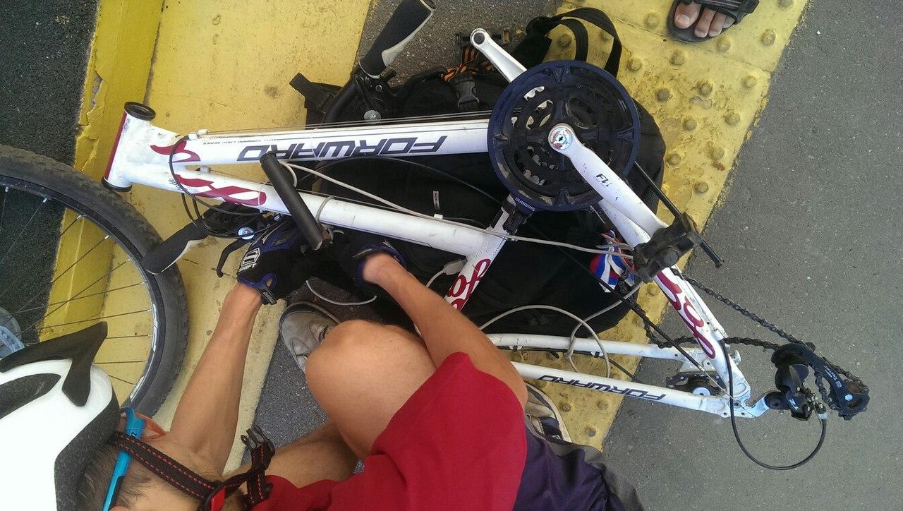Восстановление женского велосипеда forward Jade 2.0