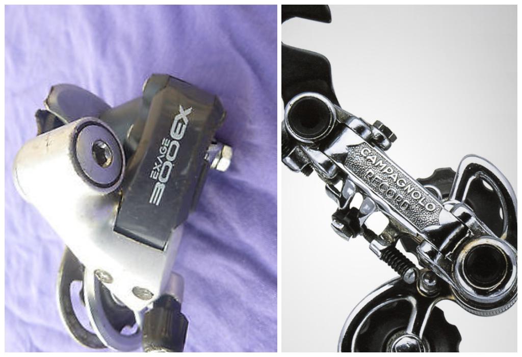 Навесное оборудование винтажного велосипеда