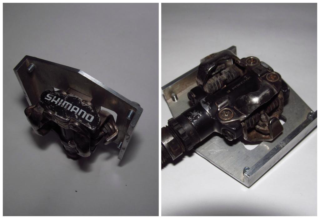 накладки на контактные педали из стали