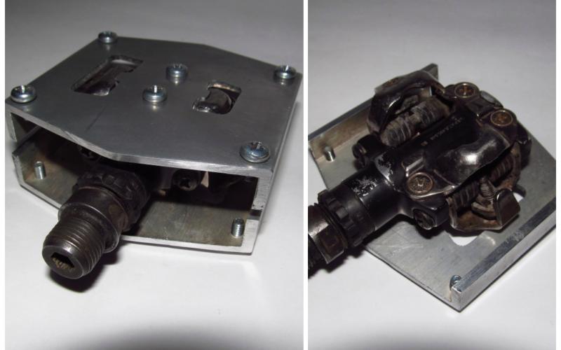Как контактные педали превратить в топталки?