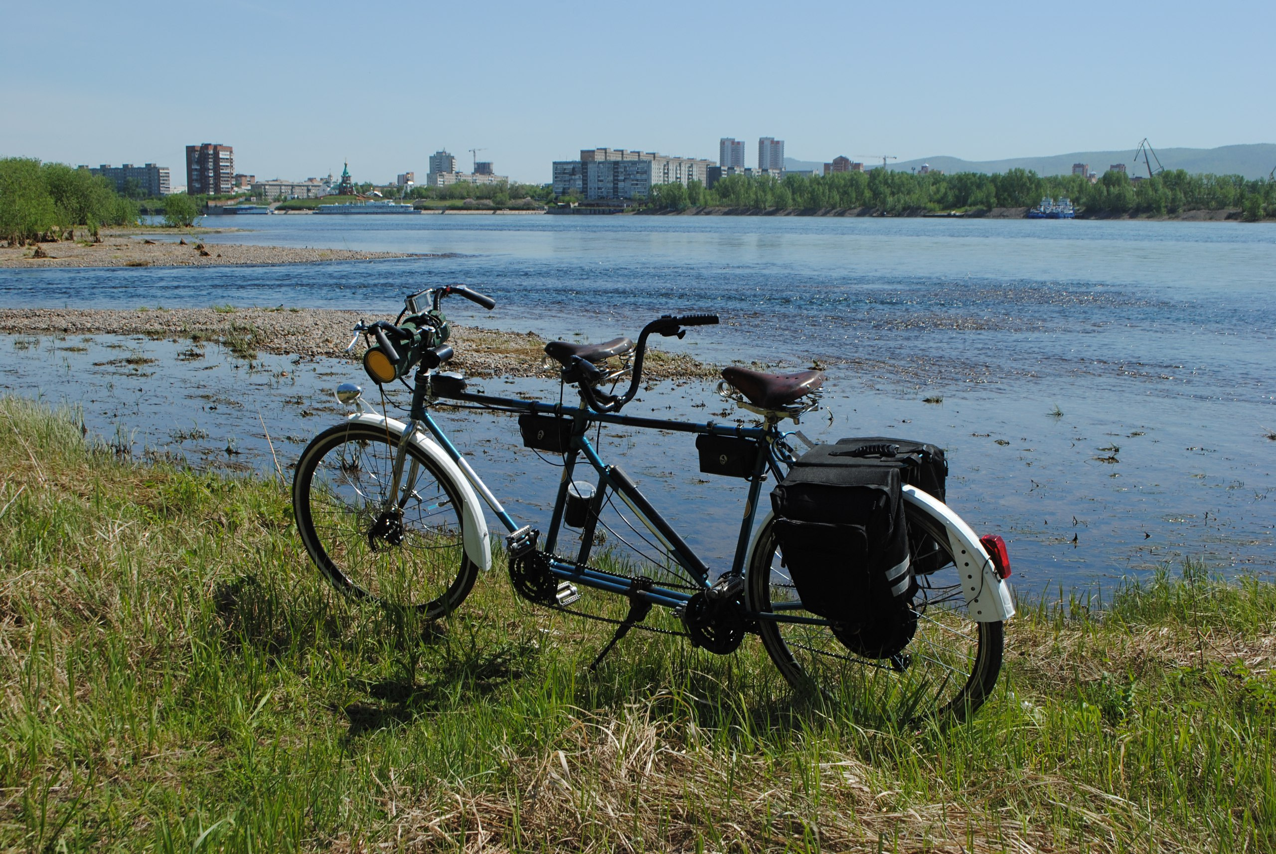 """Преимущества и недостатки велосипедов типа """"тандем"""""""