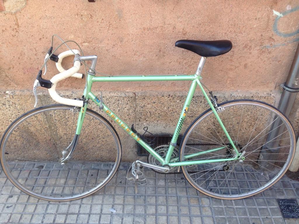 Покупка велосипеда Peugeot Course в Испании