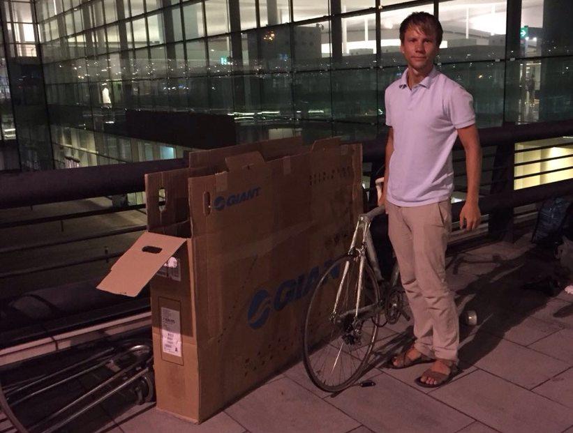 Как я велосипед с собой в самолет взял