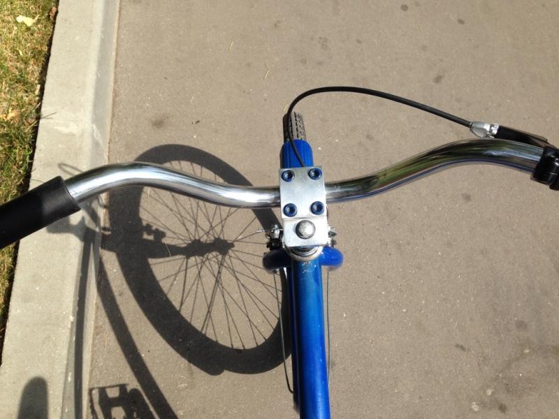 продажа синего велосипеда для подростка