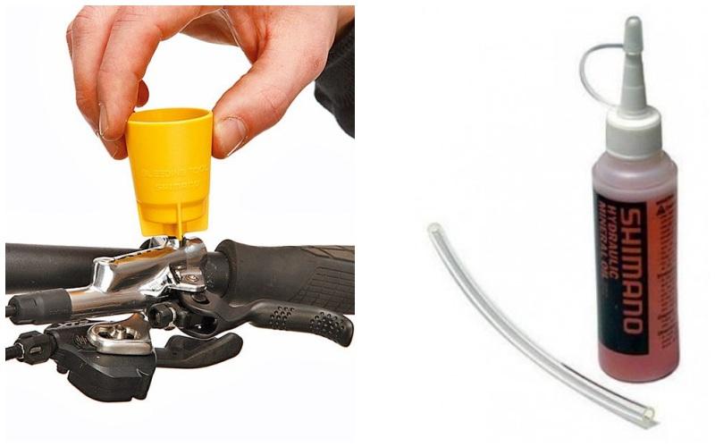 Набор инструментов для прокачки гидравлики Shimano