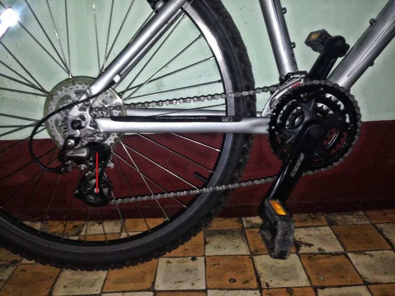 как подобрать длину цепи горного велосипеда