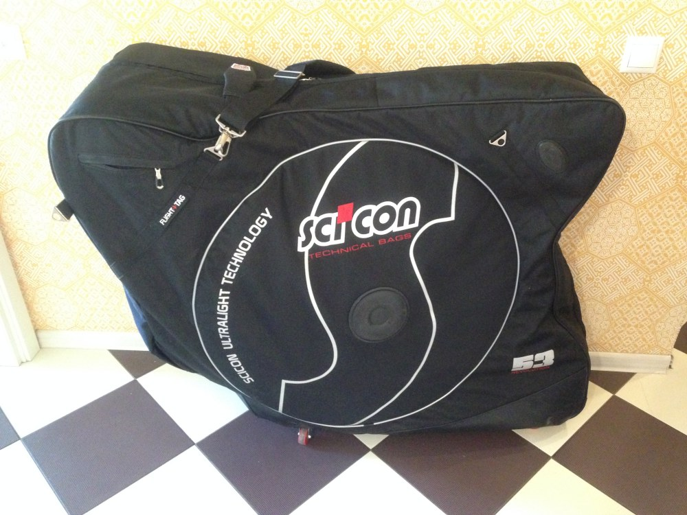 сумка-чехол для шоссейного велосипеда