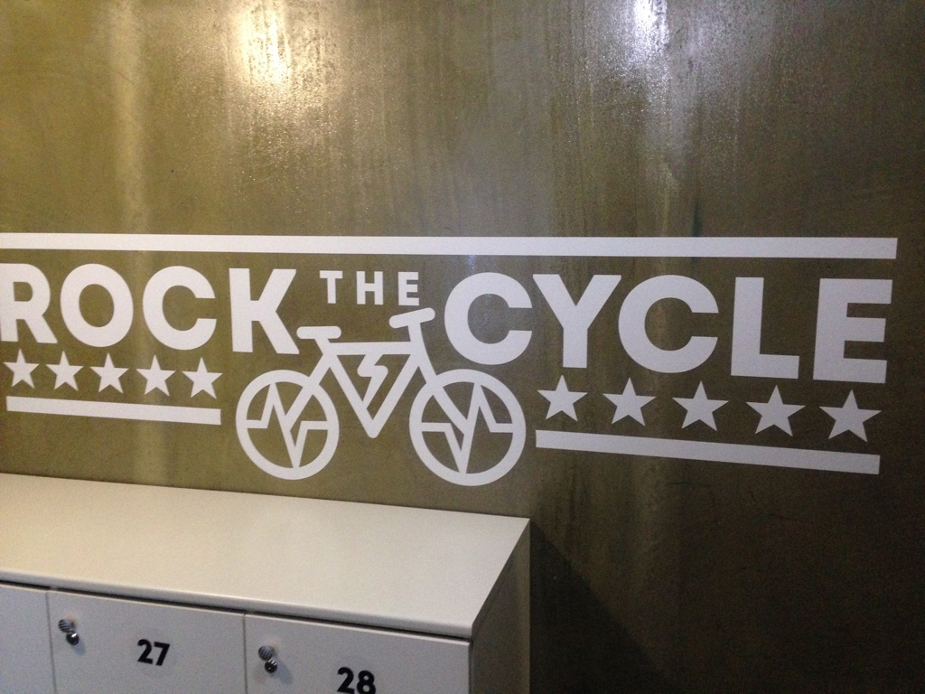 Как я ходил в сайкл студию Rock The Cycle