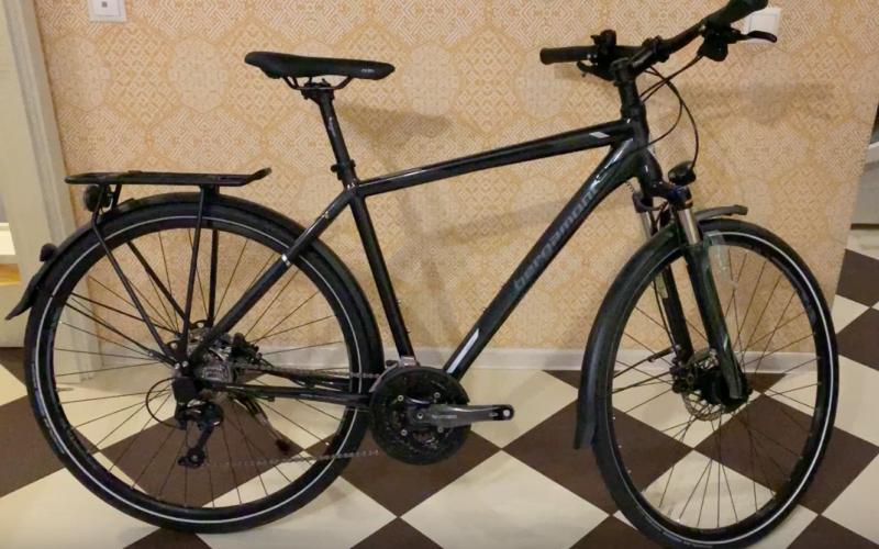 Купил себе новый велосипед Bergamont horizon 7.0 2016 года