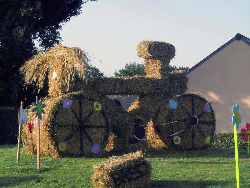 Велосипед из стога сена
